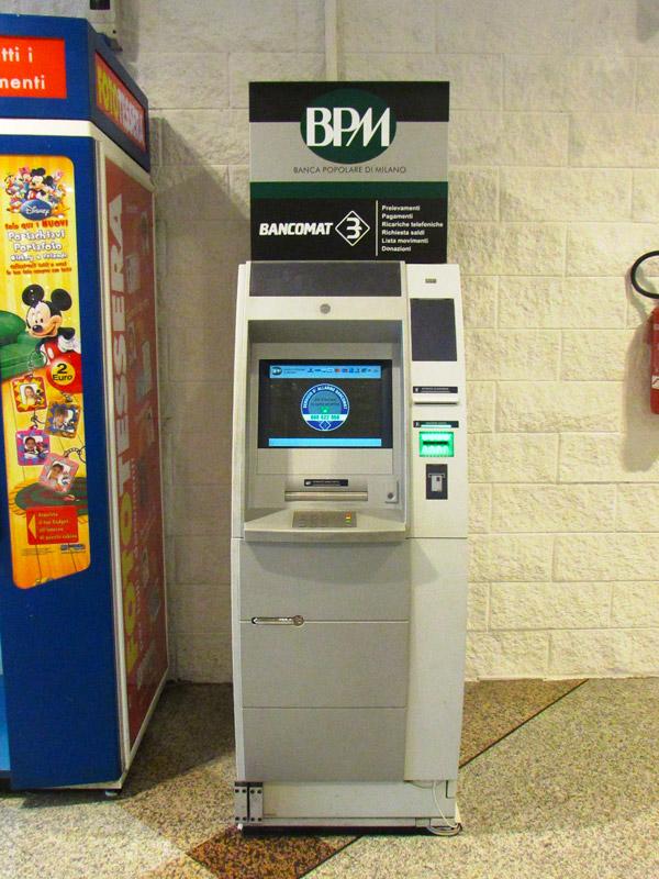 Bancomat Bpm Centro Commerciale Brianza